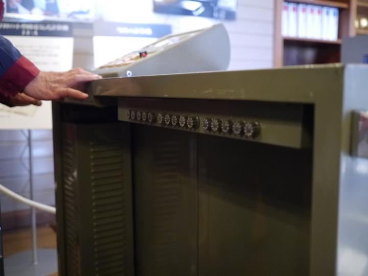 カシオ計算機のリレー式計算機「14-A」の定数定義部