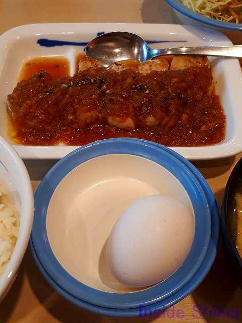 厚切りポークソテー定食(ライスミニ盛)