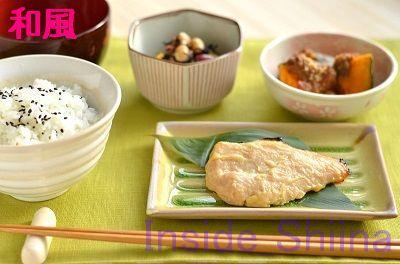 日商簿記3級和風朝食