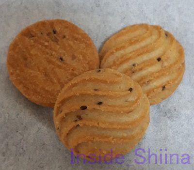 ブランとチアシードのクッキー見た目