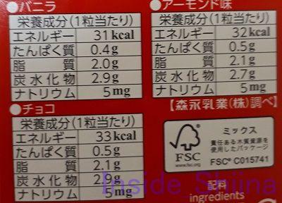 スーパー糖質制限とピノチョコアソートのカロリーと糖質