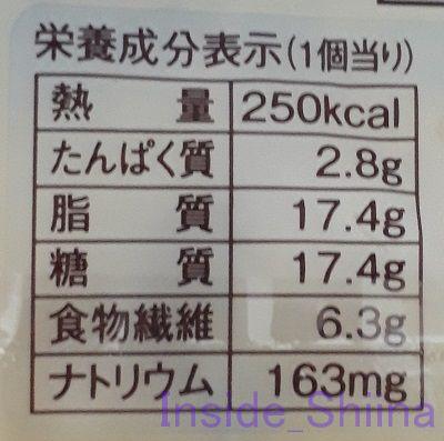 さつまいも蒸しパン栄養成分