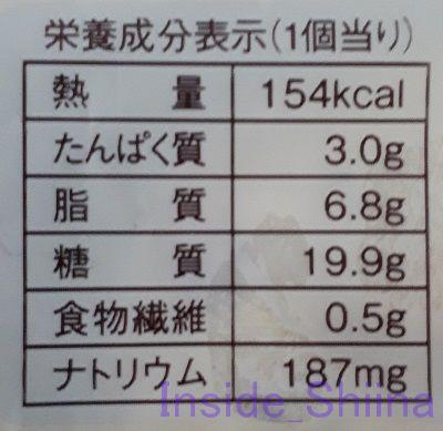 もち食感クリームチーズ&ダブルベリーパン2個入栄養成分