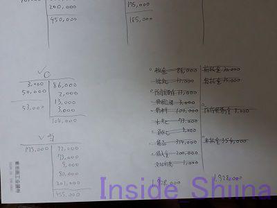日商簿記3級計算用紙2