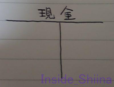 日商簿記3級Tフォーム現金