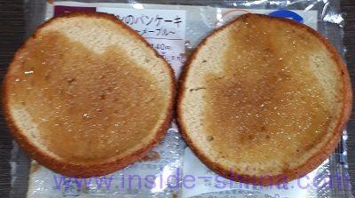 ブランのパンケーキ~メープル~2個入中身