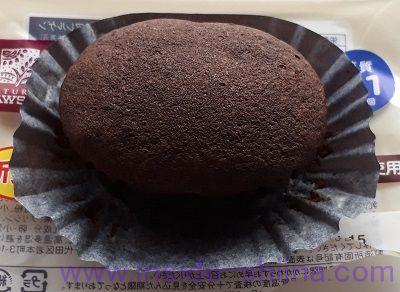 ブランのスイートチョコ蒸しケーキ~ベルギーチョコ使用~2個入見た目