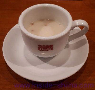 グリルスイス(銀座スイス)のカップスープ