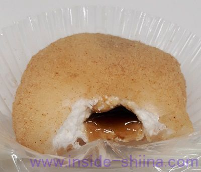 とろーりわらび餅~ホイップ&黒蜜~中身