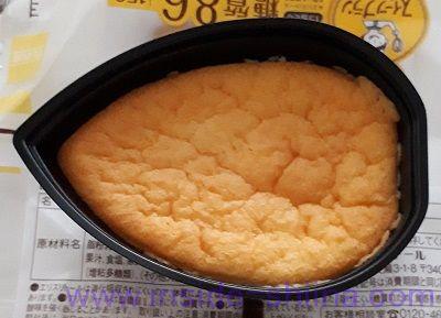 糖質を考えたチーズスフレ見た目