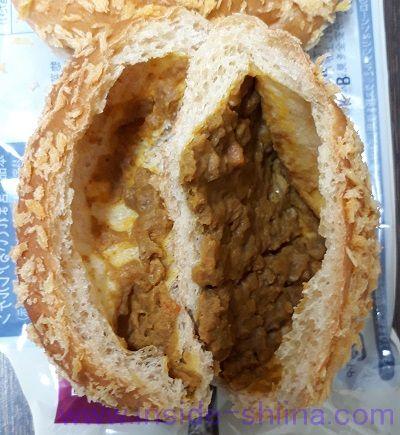ブランの焼きカレーパン2個入中身