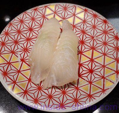 回転寿司寒平目
