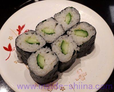 回転寿司かっぱ巻