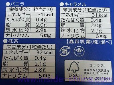 ピノシーズンアソート栄養成分表示