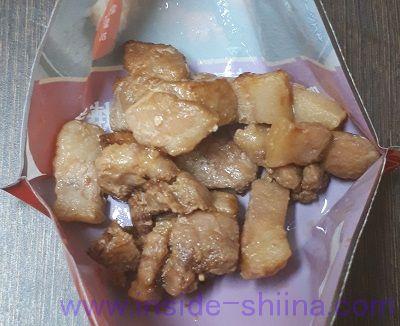 スーパー糖質制限と豚バラにんにく醤油焼き見た目