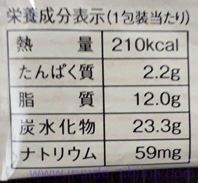 ローソン マチカフェ レーズンサブレ カロリー 糖質