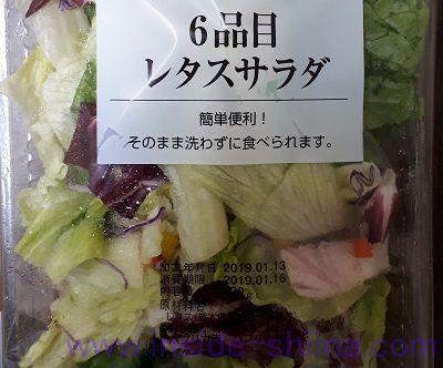 6品目レタスサラダ