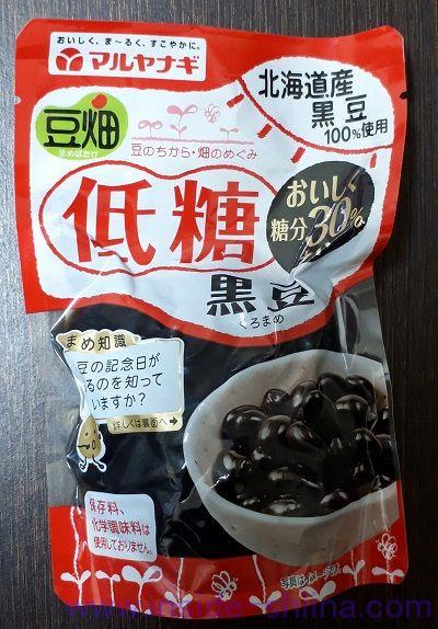 マルヤナギ 豆畑低糖黒豆