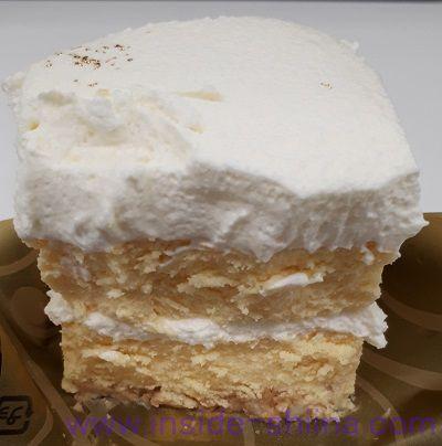 至福のチーズケーキ断面