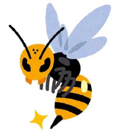 アロエと蜂