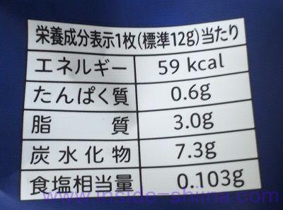 カントリーマアムロイヤル塩バター栄養成分表示
