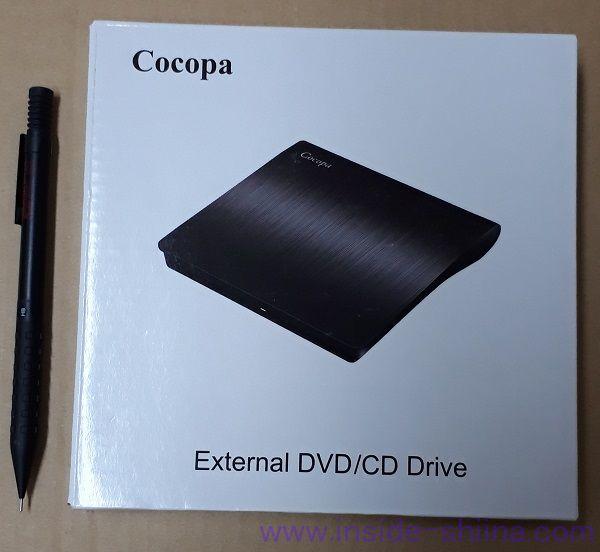 Cocopa USB 3.0 外付け DVD プレイヤー ポータブルドライブ