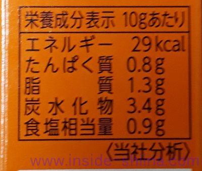 S&B ねりからし カロリー 糖質