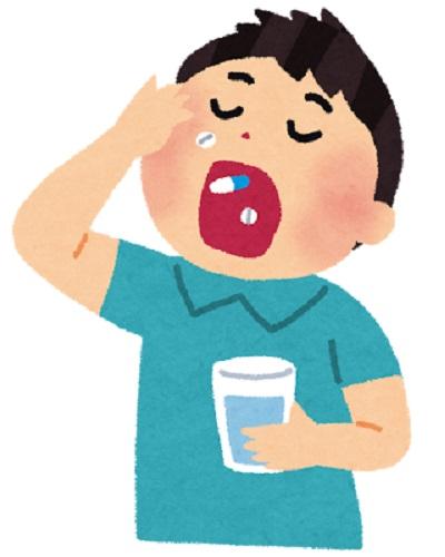 ピロリ菌除菌薬服用