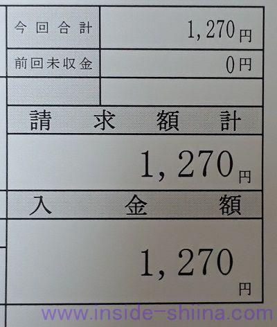 処方箋の薬の値段