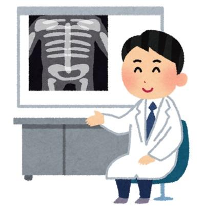 腰痛のレントゲン結果