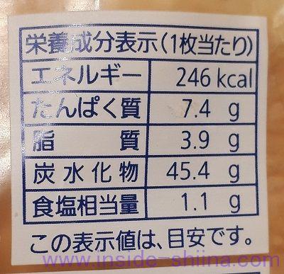 食パン4枚切りのカロリーと糖質