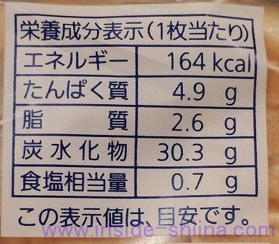 食パン6枚切りのカロリーと糖質