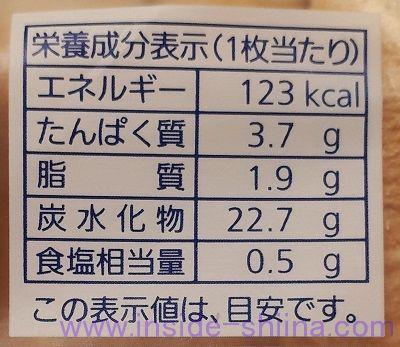 食パン8枚切りのカロリーと糖質