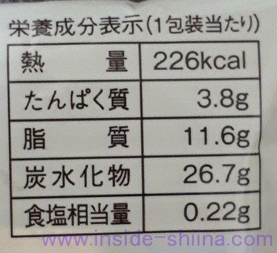 ローソン マチカフェ キャラメルとバナナのバウムクーヘン カロリー 糖質