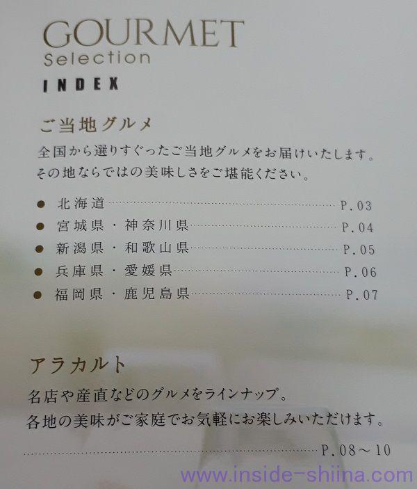 2019年コラボス(3908)株主優待カタログギフトの中身