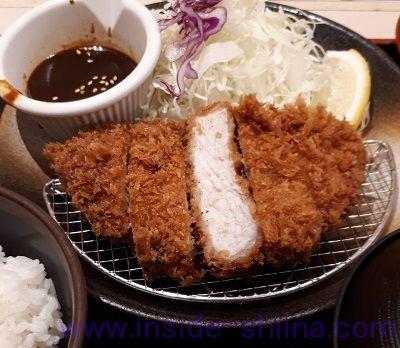 味噌厚切りロースかつ定食(税込780円)