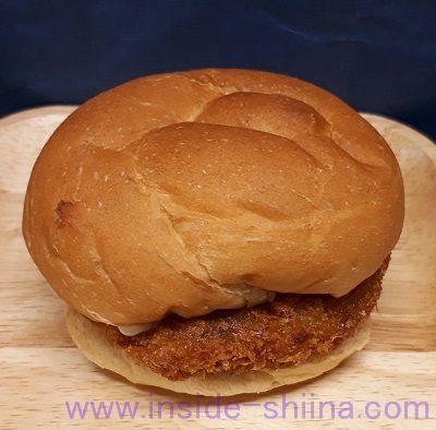 大麦ぱんバター入りマーガリンサンド2個入メンチカツ2