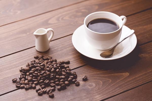 飲料毎の一般的なカフェイン量