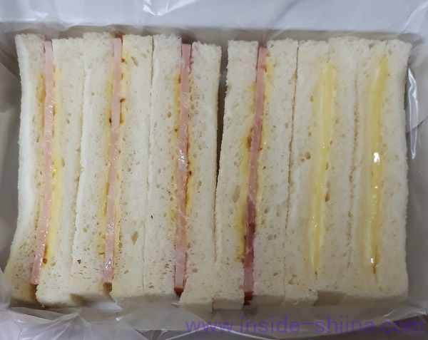 大船軒サンドイッチの見た目