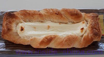 コク豊かな北海道クリームチーズのデニッシュ(ファミマ)見た目