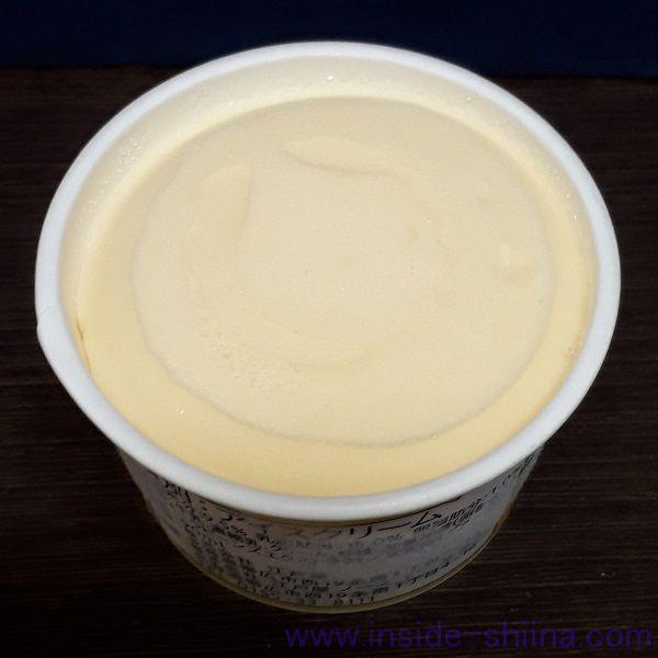 北海道乳蔵アイスクリーム バニラの見た目
