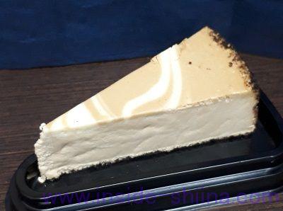 カルディ ニューヨークチーズケーキ カプチーノ見た目