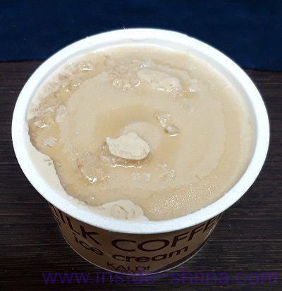 カルディ ミルクコーヒーアイス見た目