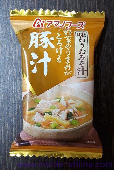 豚汁(アマノフーズ)