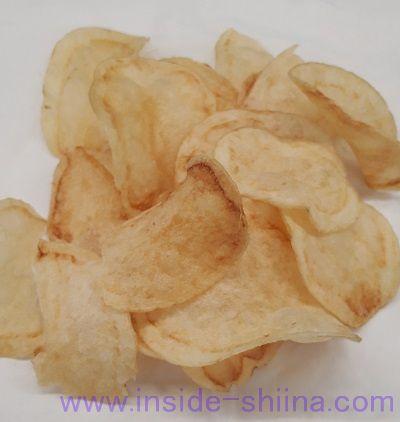 ポテトチップス2種のうすしお味(ファミマ)見た目