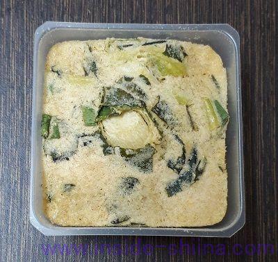 減塩いつものおみそ汁とうふ(アマノフーズ)中身