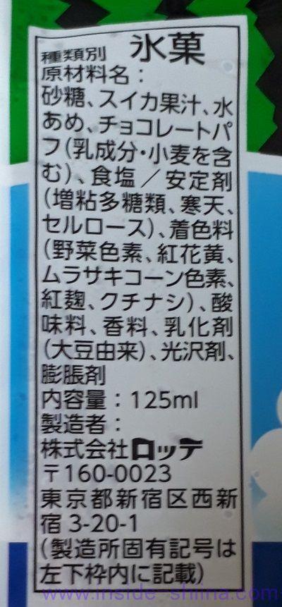 BIG スイカバー(ロッテ) 氷菓