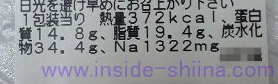 1/2日分の緑黄色野菜と肉団子の黒酢和え カロリー 糖質