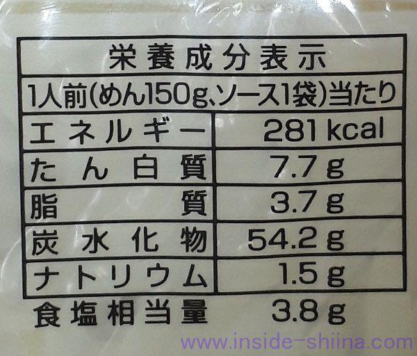 マルちゃん焼きそば(ソース)のカロリーと糖質は!