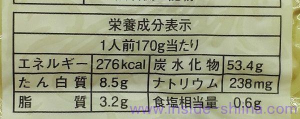 マルちゃん焼きそば ソース 麺のカロリーと糖質